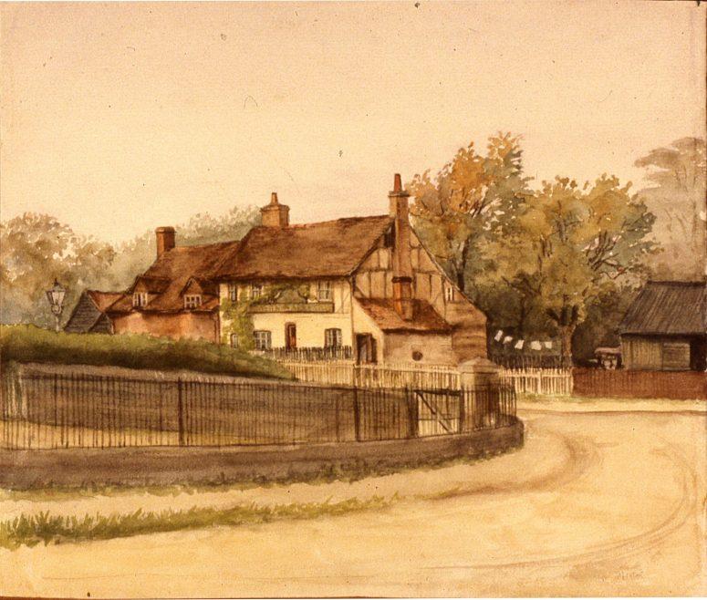 Watercolour by Edith Salisbury 1912 | slides b 3.85